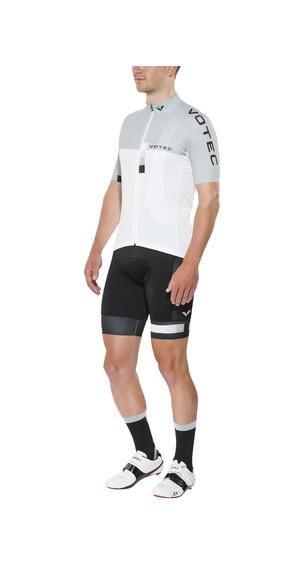 VOTEC EVO Race Jersey korte mouwen grijs/wit